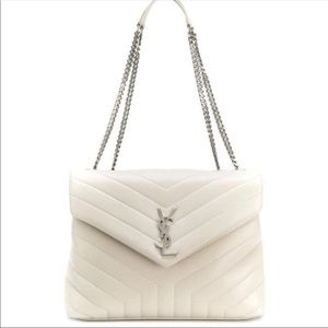 YSL Medium Lou Lou College Bag.